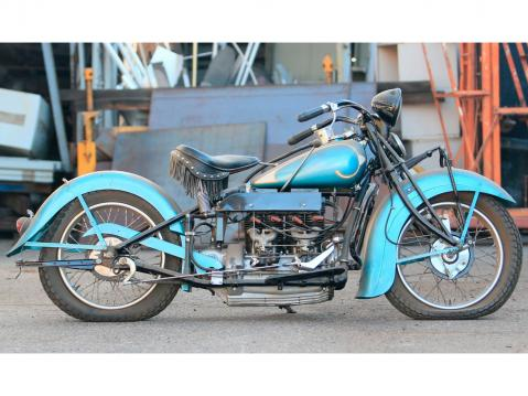 1936 Indian Four.