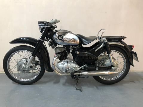 1957 Honda Benly 125.