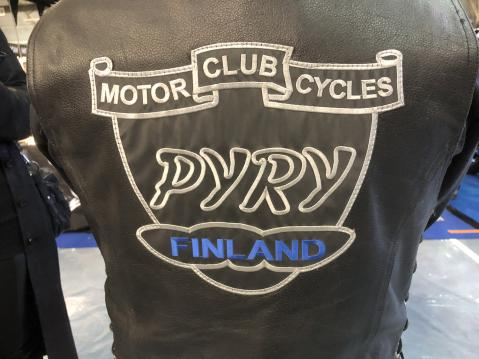 Pyry Motorcycles Club Finland.