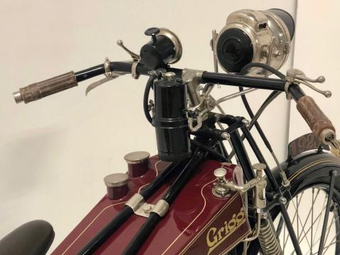 1923 Grigg Blackburne V-Twin Engine 693cc