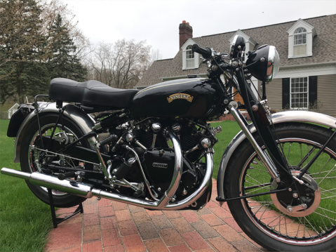 1953 Vincent Black Shadow Series C