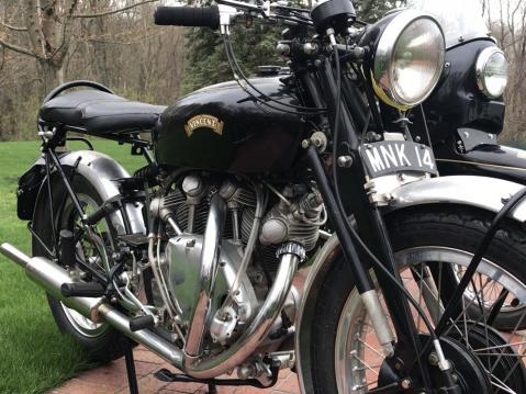 1954 Vincent Series D/C Rapide