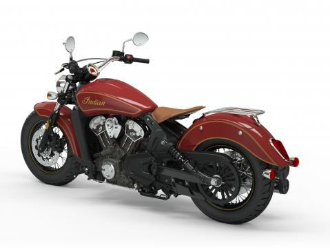 Indian limited edition Scout 100th Anniversary vm 2020.