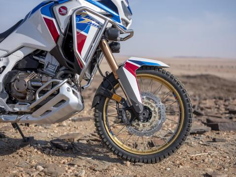 20YM Africa Twin Adventure Sports Front Wheel Detail