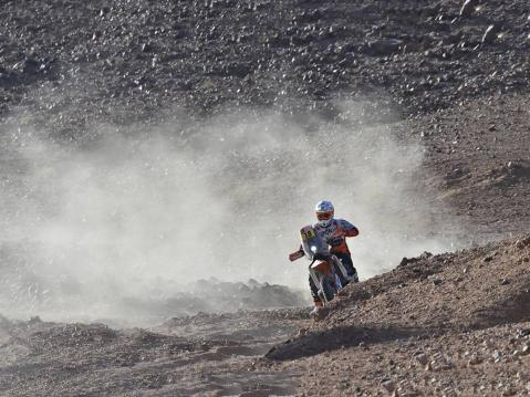 Ross Branch no 18, BAS Dakar KTM Racing Team. Kuva: DPPI Media