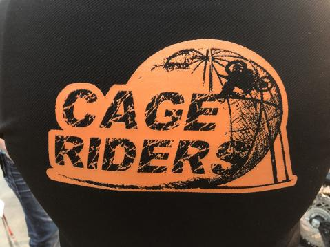 Cage Riders.