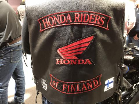 Honda Riders of Finland.
