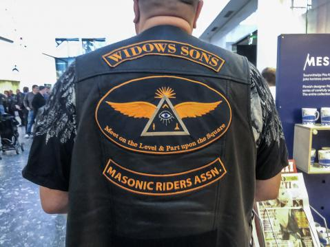Widows Sons. Masonic Riders ASSN.