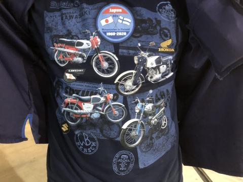 Japan motorcycles 60 years in Finland