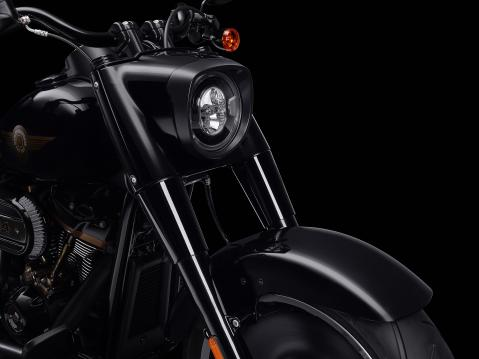 Harley-Davidson Fat Boy Slim 30th anniversary model.