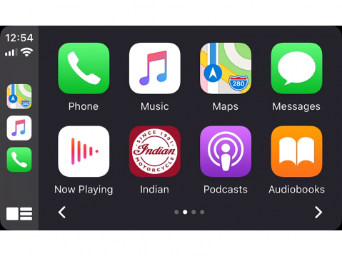 Apple CarPlay Intiaanissa.