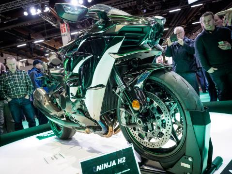 MP-Messut 2015. Kawasaki Ninja H2.