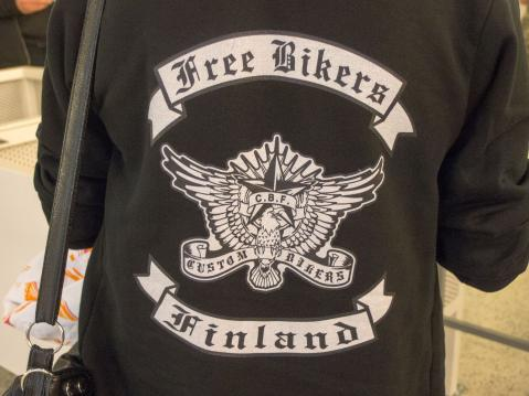 MP-Messut 2015: Free Bikers Finland