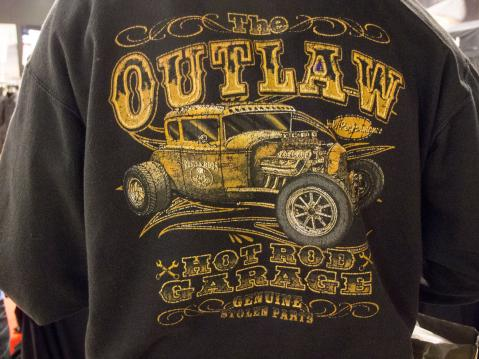 MP-Messut 2015: The Outlaw Hotrod Garage