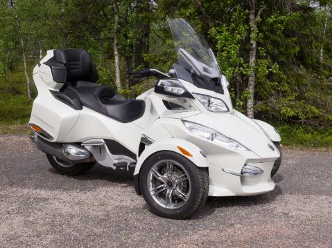 Can-Am Spyder RT Limited.