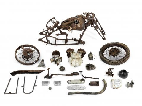 1936 Brough Superior SS80 -projekti.