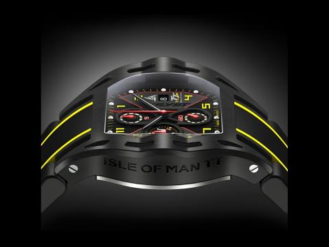 Wryst Isle of Man TT Sport Watch Limited Edition.