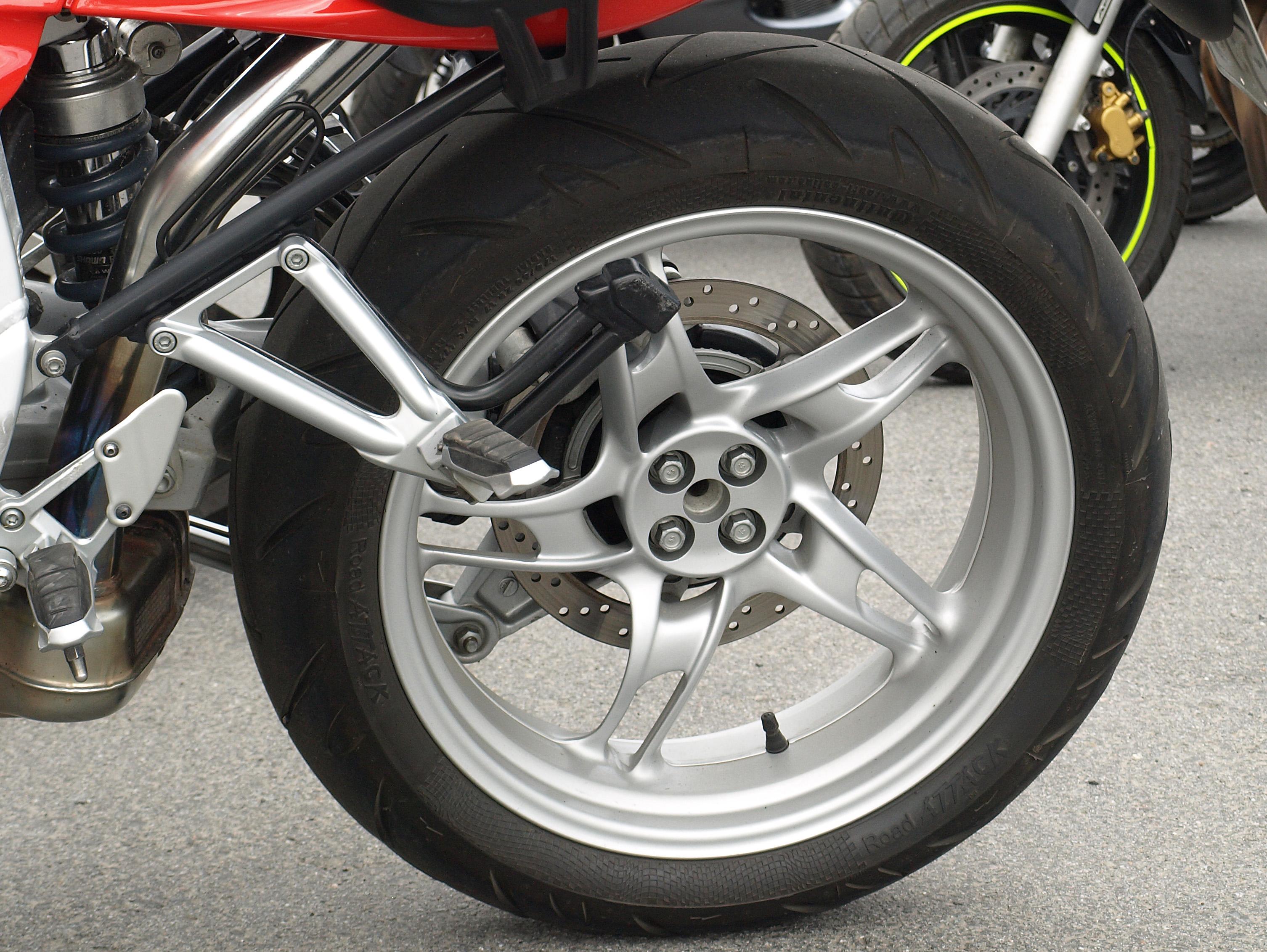Skootteri rengaspaineet