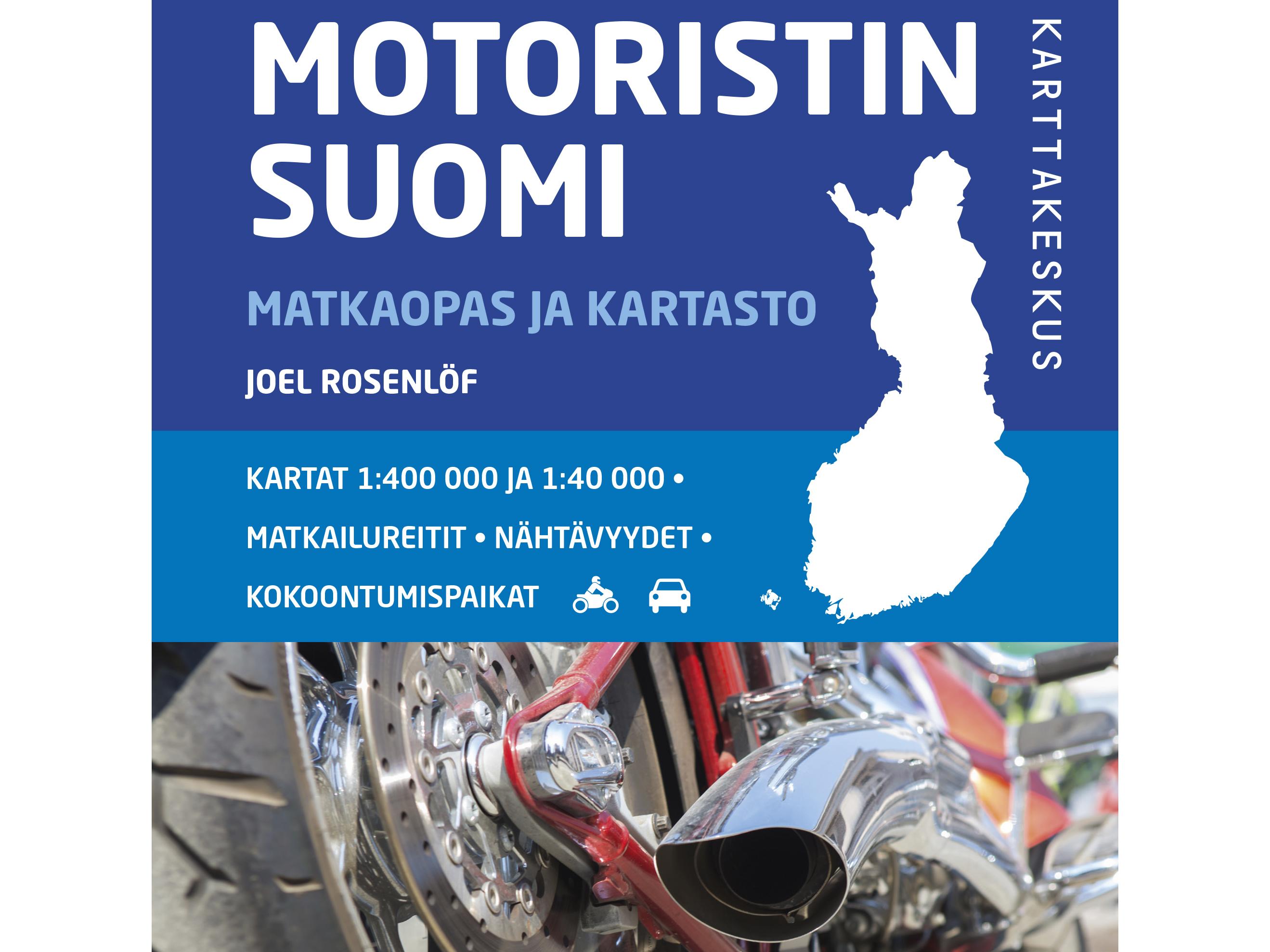 Motoristin Suomi Matkaoppaasta Ja Karttakirjasta Uusi Paivitetty